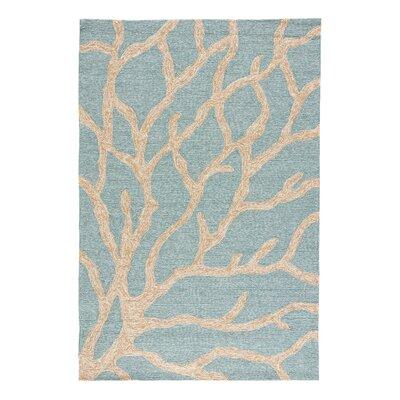 Ismene Blue/Frosty Green Coastal Rug Rug Size: 76 x 96