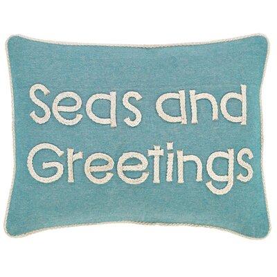 Brigid Seas and Greetings 100% Cotton Lumbar Pillow