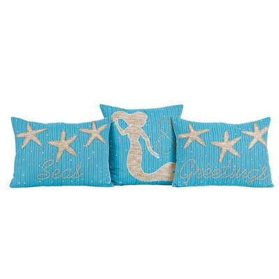 Stearns 3 Piece Seas & Greetings Pillow Set