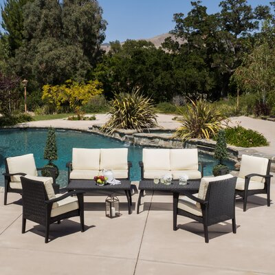 Farrow 8 Piece Lounge Seating Group with Cushions