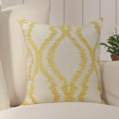 Southwood Throw Pillow Color: Yellow