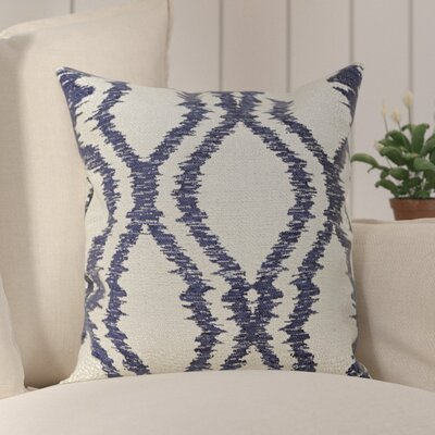 Southwood Throw Pillow Color: Dark Blue