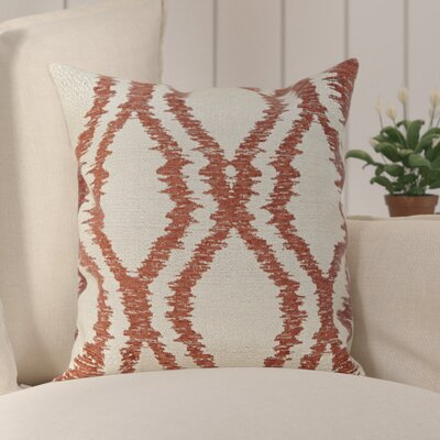 Southwood Throw Pillow Color: Red