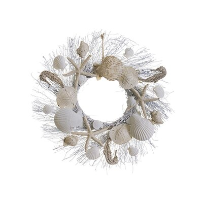 Shell and Starfish 17 Wreath