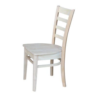 Bloomfield Solid Wood Dining Chair Color: Unfinished