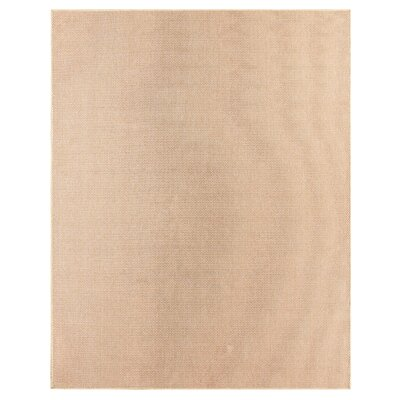 Sullivan Coral/Natural Indoor/Outdoor Area Rug Rug Size: 53 x 76