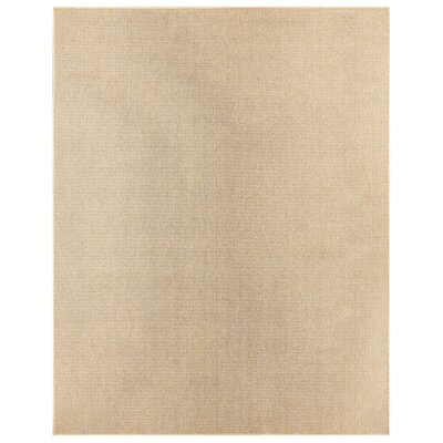 Villa Natural Indoor/Outdoor Area Rug Rug Size: Rectangle 53 x 76