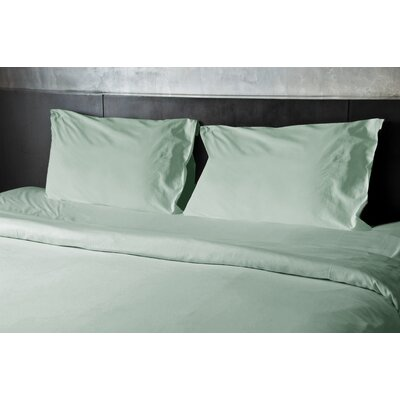 Ayala 1000 Thread Count 4 Piece Sheet Set Size: King, Color: Sea Foam
