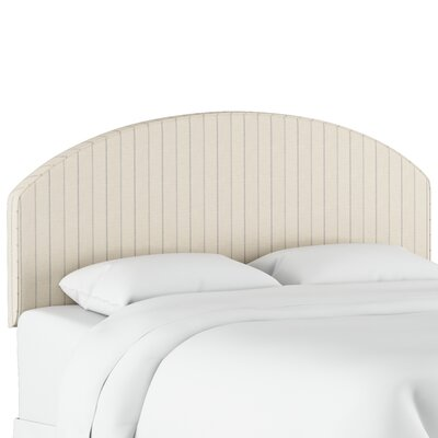 Fellsmere Cotton Upholstered Panel Headboard Size: Twin
