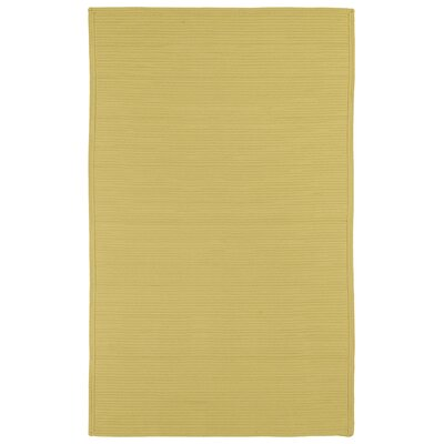 Malounta Maize Indoor/Outdoor Area Rug Rug Size: 2 x 3