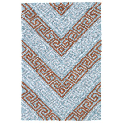 Avianna Light Blue Indoor/Outdoor Rug Rug Size: 2 x 3