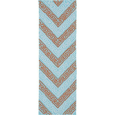 Avianna Light Blue Indoor/Outdoor Rug Rug Size: Runner 2 x 6