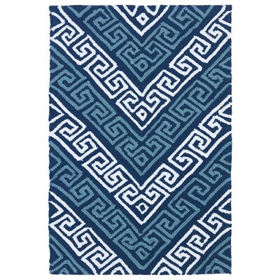 Avianna Blue Indoor/Outdoor Rug Rug Size: Rectangle 3 x 5