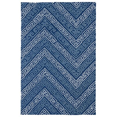 Pierre Blue Indoor/Outdoor Rug Rug Size: 76 x 9