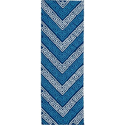 Avianna Blue Indoor/Outdoor Rug Rug Size: Runner 2 x 6