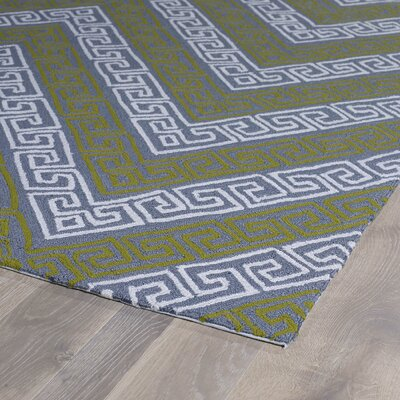 Avianna Grey Indoor/Outdoor Rug Rug Size: Runner 2 x 6