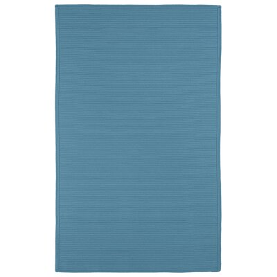 Malounta Teal Indoor/Outdoor Area Rug Rug Size: 5 x 8
