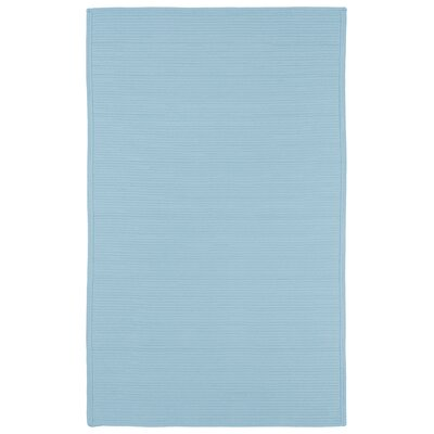 Rouillard Light Blue Indoor/Outdoor Area Rug Rug Size: 2 x 3