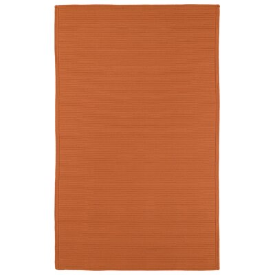 Rouillard Orange Indoor/Outdoor Area Rug Rug Size: 5 x 8