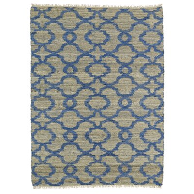 Coatsburg Blue Area Rug Rug Size: Rectangle 7'6
