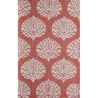 Cline Coral Indoor/Outdoor Area Rug Rug Size: 2 x 3
