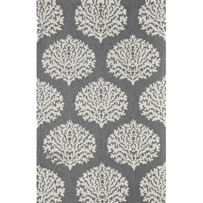 Cline Gray Indoor/Outdoor Area Rug Rug Size: Rectangle 39 x 59