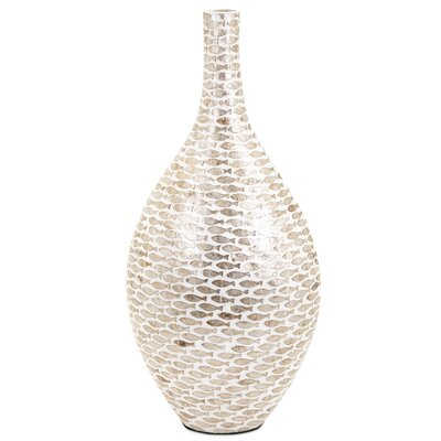 Large Shell Floor Vase