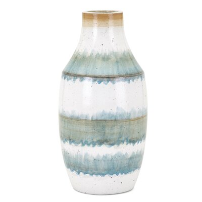 Blue/White Table Vase Size: Small