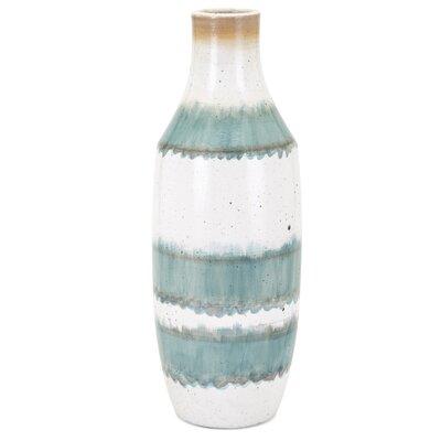 Blue/White Table Vase Size: Large
