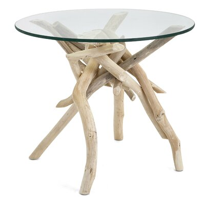 Inshore Driftwood End Table