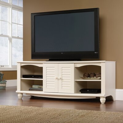 Pinellas 62.6 TV Stand Color: Antiqued White