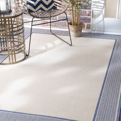 Bourne Indoor/Outdoor Area Rug Rug Size: 53 x 79