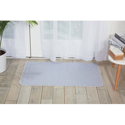 Asleigh Hand-Tufted Blue/Gray Area Rug