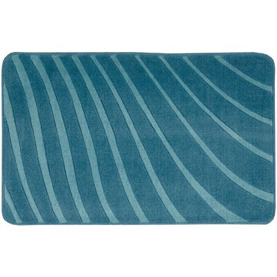 Leonor�Dark Blue Area Rug Rug Size: 18 x 29