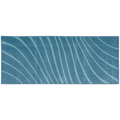 Leonor�Dark Blue Area Rug Rug Size: Runner 110 x 46
