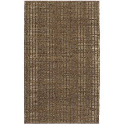 Fairfax Khaki Area Rug Rug Size: 5 x 8