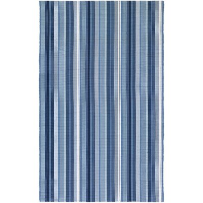 Greater Carrollwood Hand-Woven Blue Area Rug Rug Size: 3 x 5