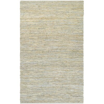 Fairfax Hand-Loomed Ivory Area Rug Rug Size: Rectangle 5 x 8