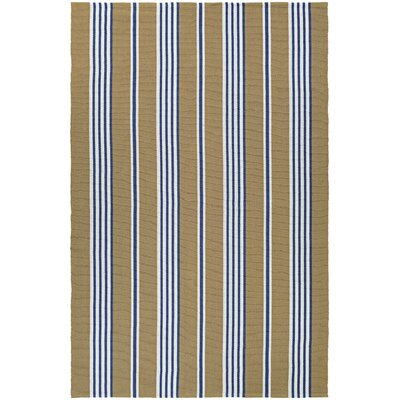 Artique Hand-Woven Iced Coffee Area Rug Rug Size: 5 x 8