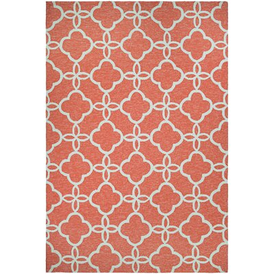 Locklin Hand-Knotted Indoor/Outdoor Area Rug Rug Size: Rectangle 56 x 8