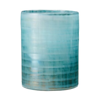 Blue Frost Table Vase