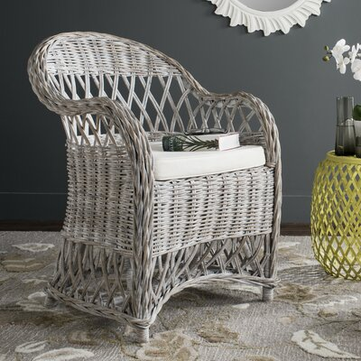 Eirwen Armchair Upholstery: Gray White Wash