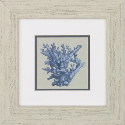 Chambray Coral 2 Piece Framed Graphic Art Set BCHH2383 34911673