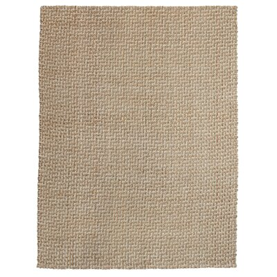 Zulma Hand-Woven Natural Area Rug Rug Size: 8 x 10