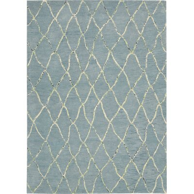 Mahoney Handmade Wave Area Rug Rug Size: Rectangle 79 x 1010