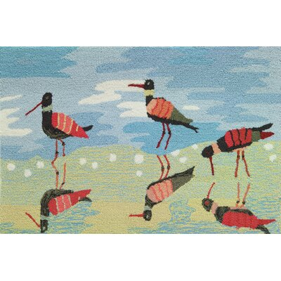 Cockerham Reflective Sandpipers Rug