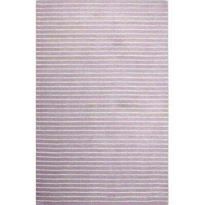 Huslia Lilac Area Rug Rug Size: 76 x 96