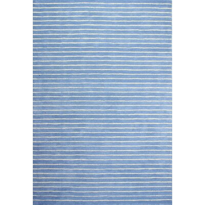 Huslia Light Blue Area Rug Rug Size: Runner 26 x 8