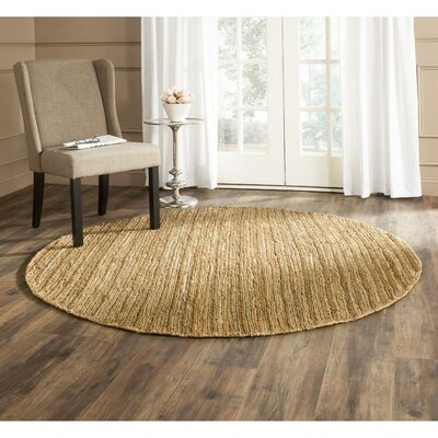 Feliciana� Natural Area Rug Rug Size: Rectangle 6 x 9