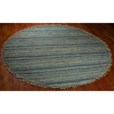Ruby Blue Area Rug Rug Size: Square 6